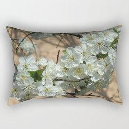 WILD APPLE BLOSSOM Rectangular Pillow