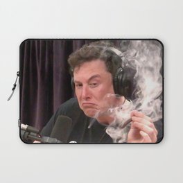 Elon Musk Smoking Weed Laptop Sleeve