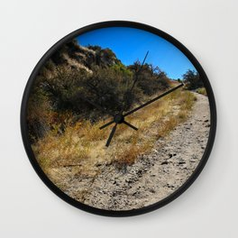 Dust and Dirt Wall Clock