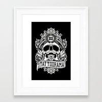 logo Framed Art Prints featuring Logo by Tattoorama