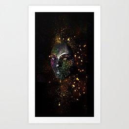 Goddess of Cosmos Art Print