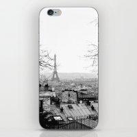 paris iPhone & iPod Skins featuring Paris by Studio Laura Campanella