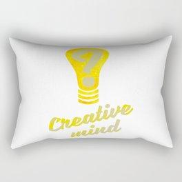 Creative Mind Rectangular Pillow