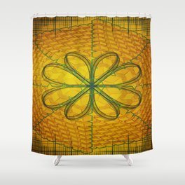Lemming Cubes Shower Curtain