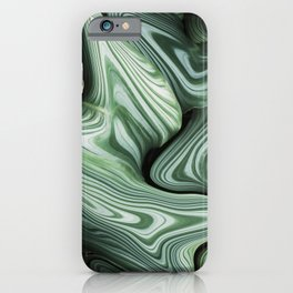 Sinking in Green iPhone Case
