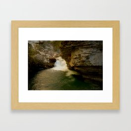The Sounds of the Canyon Framed Art Print