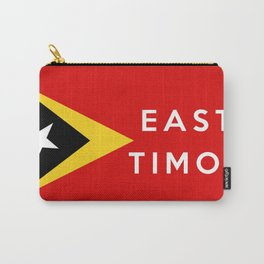 flag of east timor Carry-All Pouch