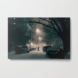 Austin snow12a Metal Print