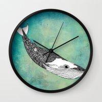 patrick Wall Clocks featuring Patrick by Tuky Waingan
