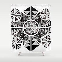 Equilibrium Shower Curtain