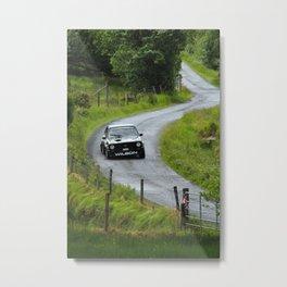 Car 84 Donegal International Rally 2018 Metal Print