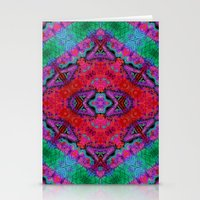 kilim Stationery Cards featuring Digital Kilim by Jellyfishtimes