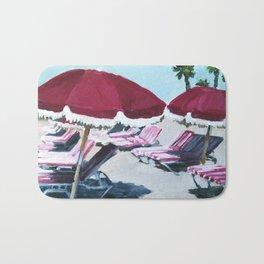 Hotel Del Umbrellas Bath Mat