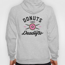 Donuts And Deadlifts v2 Hoody