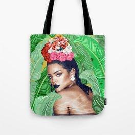Rihanna naked Tote Bag