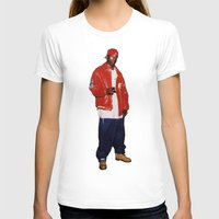 2pac T-shirts featuring Big L  by Gold Blood