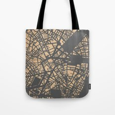 PLAN DE PARIS Tote Bag