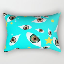 they are watching you Rectangular Pillow