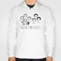 cactei Hoodies featuring Freaks and Geeks by ☿ cactei ☿