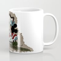 minnie Mugs featuring Minnie Mouses by carotoki art and love