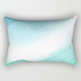Sea Ink 4 Rectangular Pillow