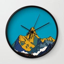 Himalaya Wall Clock