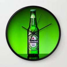 Ice cold Heineken Wall Clock