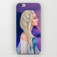 elsa iPhone & iPod Skins featuring Elsa by Jolenebydesign