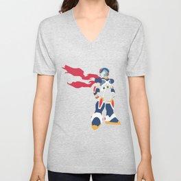 Megaman X Unisex V-Neck