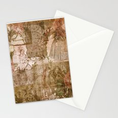 Vintage & Shabby Chic- Victorian ladies pattern Stationery Cards