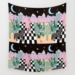 Postmodern Desert Dream Wall Tapestry