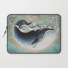 the Blue Whale Laptop Sleeve