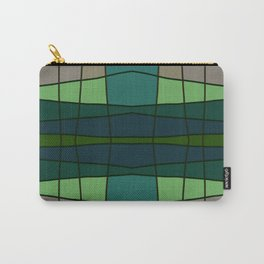 Green Pattern Turtle Carry-All Pouch