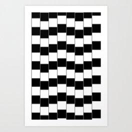 Optical Illusion #2 Art Print