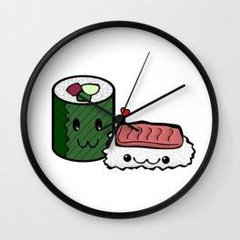 Love Sushi Wall Clock