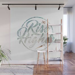 Rise Higher Shooting Star Wall Mural