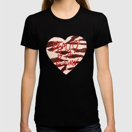 BeautyIsAReligion `ZEBRA HEART` T-shirt