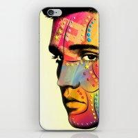 elvis presley iPhone & iPod Skins featuring Elvis Presley by mark ashkenazi