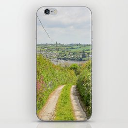 Mylor Walk - Near Halwyn  iPhone Skin