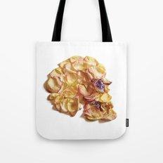 60. Flower Skull Tote Bag