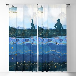 The Fisherman's Dream #2 Blackout Curtain