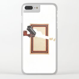 Torn Around — Unload Clear iPhone Case