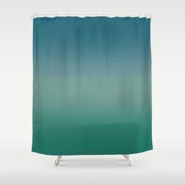 Fog over autumn sea Shower Curtain