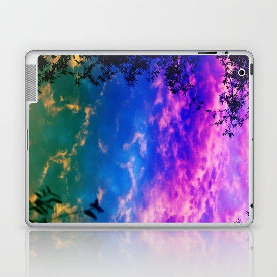 Rainbow Forest Laptop & iPad Skin
