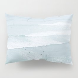 Tiny Surfers from the Sky, Lima, Peru Pillow Sham