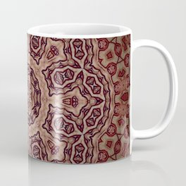 Bohemian // Vintage Gypsy Flower Mandala Pattern Rustic Soul Earthy Magical Witchy Tribal Mystical Coffee Mug