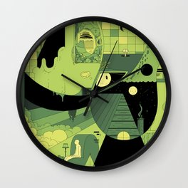 Desert Pajamas Wall Clock