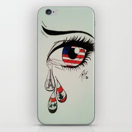 Tears for the Terrorized  iPhone Skin