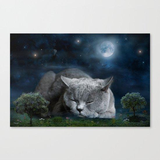 Sweet Dreams with Diesel Canvas Print