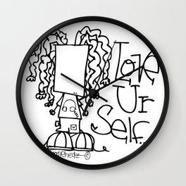 #loveurself Wall Clock